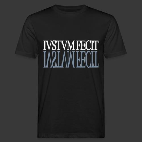 IUSTUM FECIT - Men's Organic T-Shirt