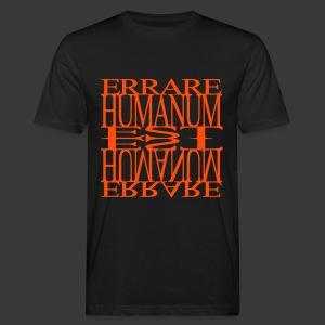 ERRARE HUMANUM EST - Men's Organic T-shirt