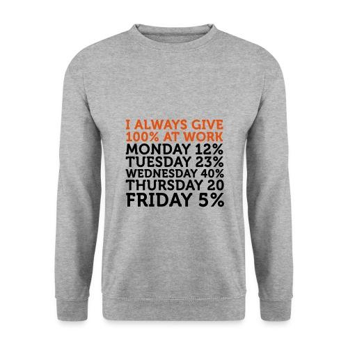 Sweatshirt uden hat - Herre sweater