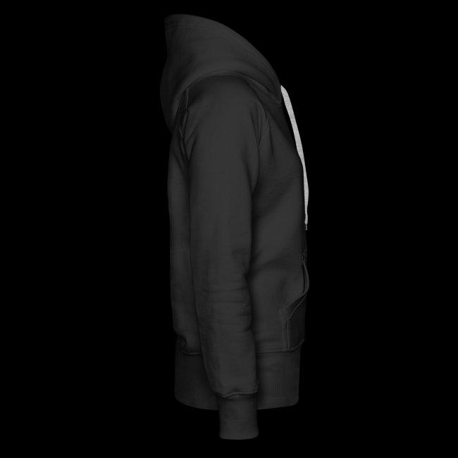 Støttemedlems hættetrøje, Damemodel, sort