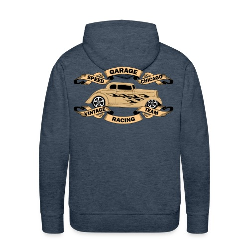 vintage car design sweatshirt capuche - Men's Premium Hoodie
