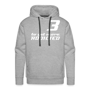 more addicted - by Bock 'n' Roll - Männer Premium Hoodie