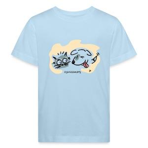 mod. niño m/c Olalla - Camiseta ecológica niño