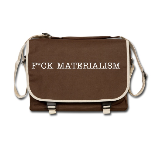White text - Side bag - Shoulder Bag
