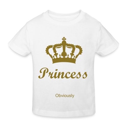 Princess Obviously - Kids' Organic T-Shirt