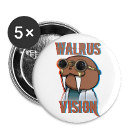Buttons ~ Buttons medium 32 mm ~ Walrus Vision Medium Button