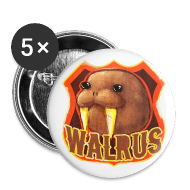 Buttons ~ Buttons medium 32 mm ~ Walrus Shield Medium Button