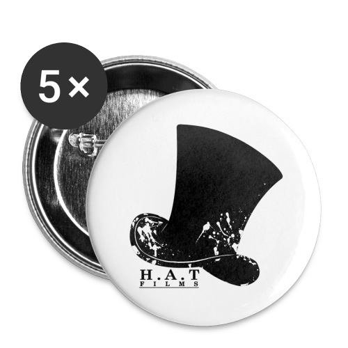 Walrus Shield Large Button - Buttons large 2.2''/56 mm (5-pack)
