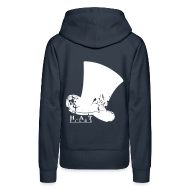 Hoodies & Sweatshirts ~ Women's Premium Hoodie ~ Official Hat Films (Back)