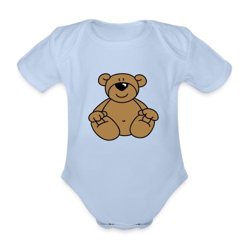 Body per neonati - Body ecologico per neonato a manica corta