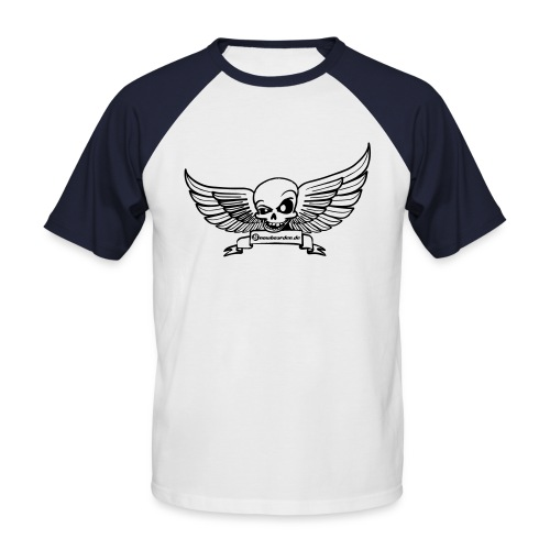 Snowboarden.de T-Shirt - Männer Baseball-T-Shirt