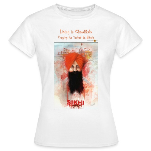 Rajoana - Chardikala - women's t-shirt - Women's T-Shirt