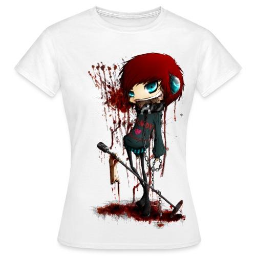 Menschenfleisch - Frau - Frauen T-Shirt