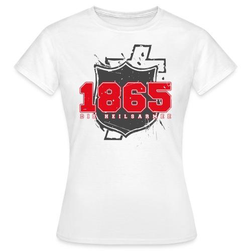 1865 (rot/grau) - Frauen T-Shirt