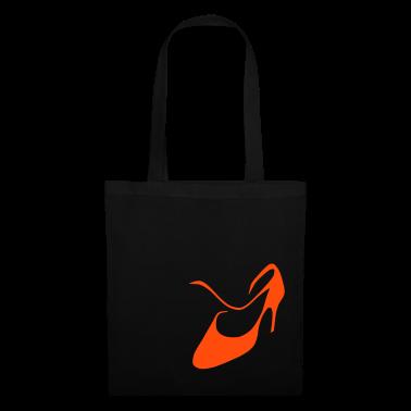 Argentine tango women dance shoe tote bag