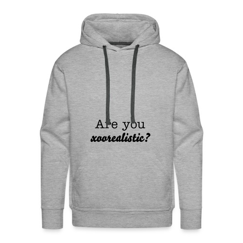 xooreal-fashion are you X - Männer Premium Hoodie