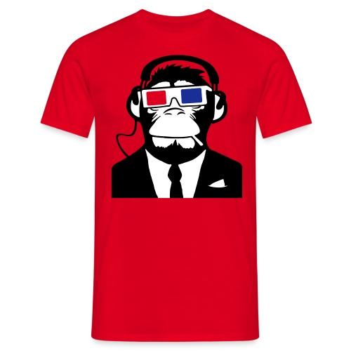 Tee-Shirt Singe Rouge. - T-shirt Homme