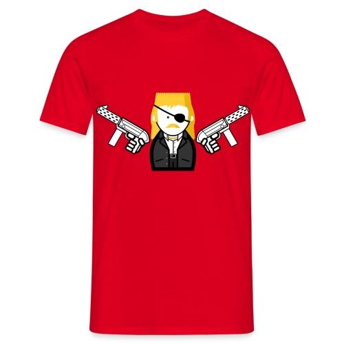 New Kids T-shirt met guns! - Mannen T-shirt