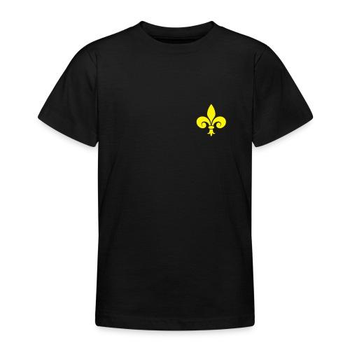 T-shirt Adolescent - petite fleur de Lys - T-shirt Ado