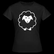 T-shirts ~ Vrouwen T-shirt ~ Zwart Schaap