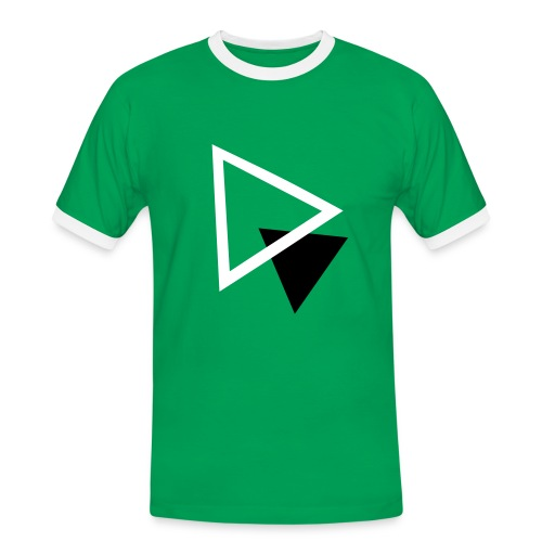 Hipsters love triangles. - T-shirt contrasté Homme