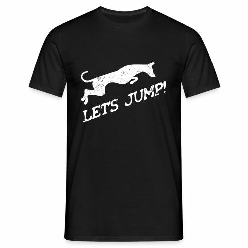 Let's jump! - Männer T-Shirt