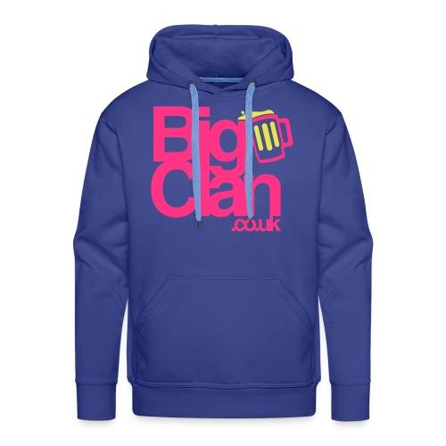 BigClan Hoodie - Pink Logo - Men's Premium Hoodie