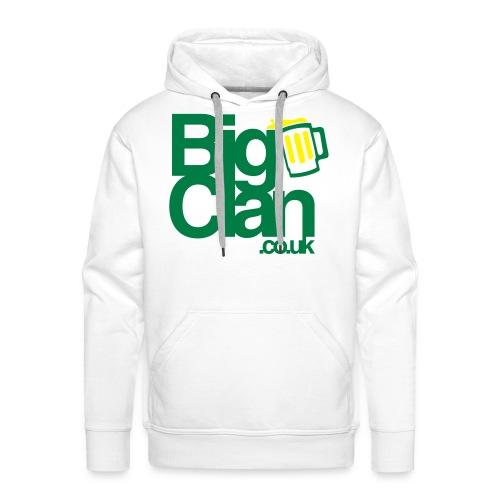 BigClan Hoodie - Green Logo - Men's Premium Hoodie