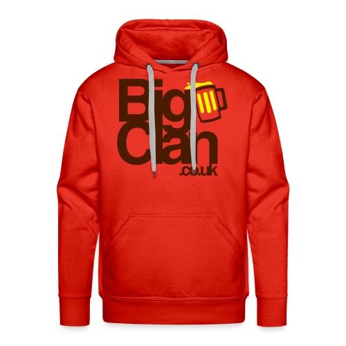 BigClan Hoodie - Brown Logo - Men's Premium Hoodie