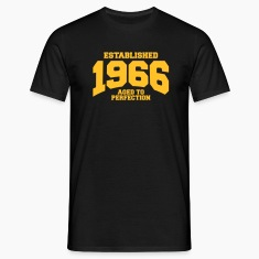 aged to perfection established 1966 (uk) T-Shirts