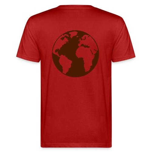 erde - Männer Bio-T-Shirt