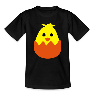 Hatching Easter Chick Kids' Shirts