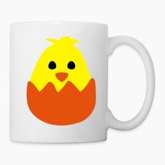 Hatching Easter Chick Mugs