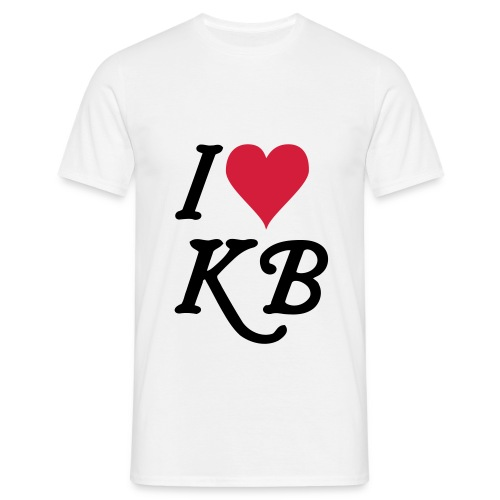 I <3 KB T-Shirt - Männer T-Shirt