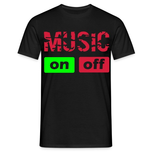 Music On - T-shirt Homme