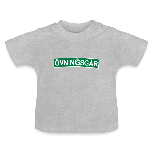 Övningsgår (trasig) T-shirt - Baby-T-shirt