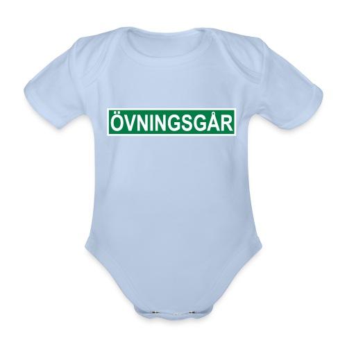 Övningsgår body - Ekologisk kortärmad babybody