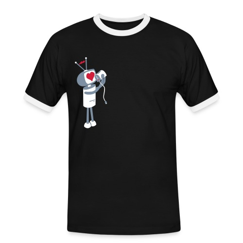 Robot Love - Men's Ringer Shirt