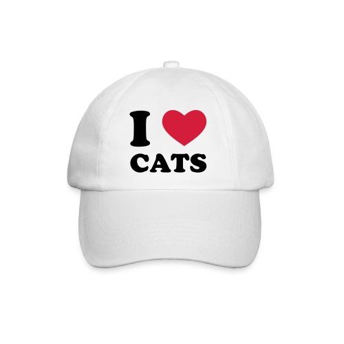 I Love Cat Cap - Baseball Cap