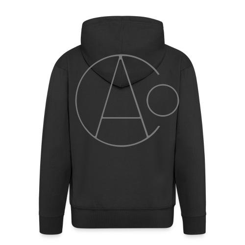 Age of Consent Hoodie (Grey Logo) - Men's Premium Hooded Jacket