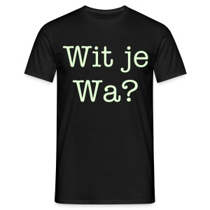 dialect klapn - Mannen T-shirt