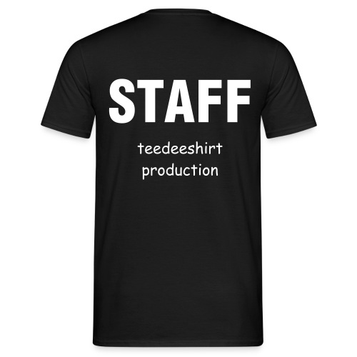 T-shirt Homme - STAFF