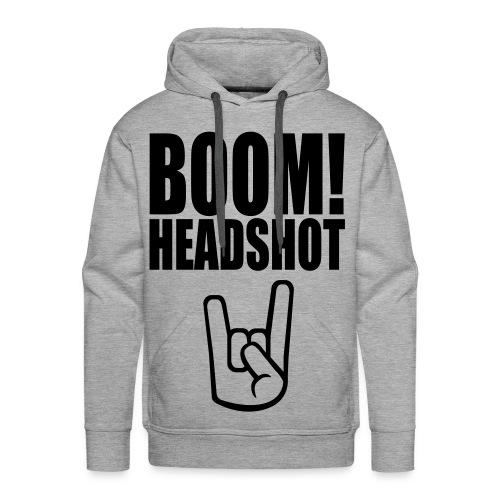 I <3 Zombies hoodie - Men's Premium Hoodie