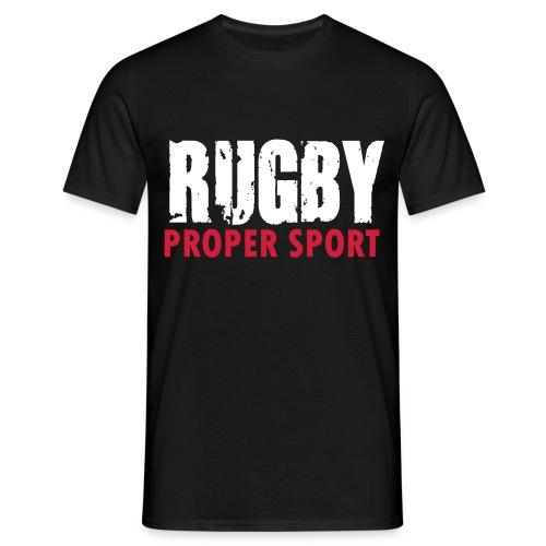 Rugby Proper Sport T Shirt - Men's T-Shirt