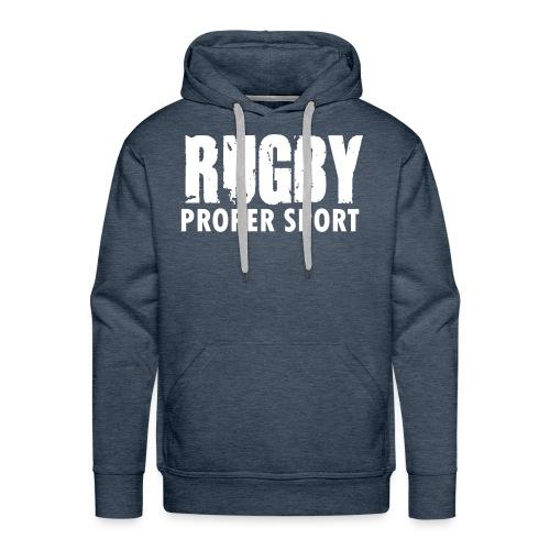Rugby Proper Sport hoodie - Men's Premium Hoodie
