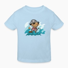 The Little Pirate and the Sea Kids' Shirts