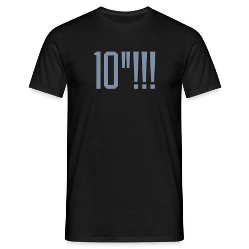 T-shirt: 10! - Silver tryck - T-shirt herr
