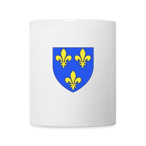 Tasse, Mug - 3 fleurs de Lys - Mug blanc