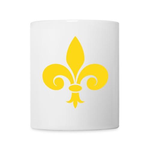 Tasse, Mug - Fleur de Lys - Mug blanc