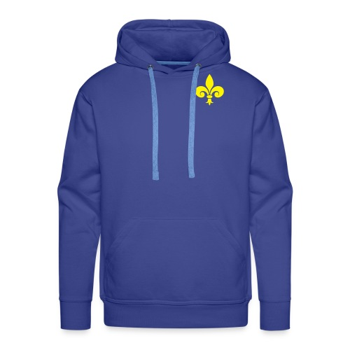 Veste capuche Homme - Fleur de Lys - Sweat-shirt à capuche Premium pour hommes